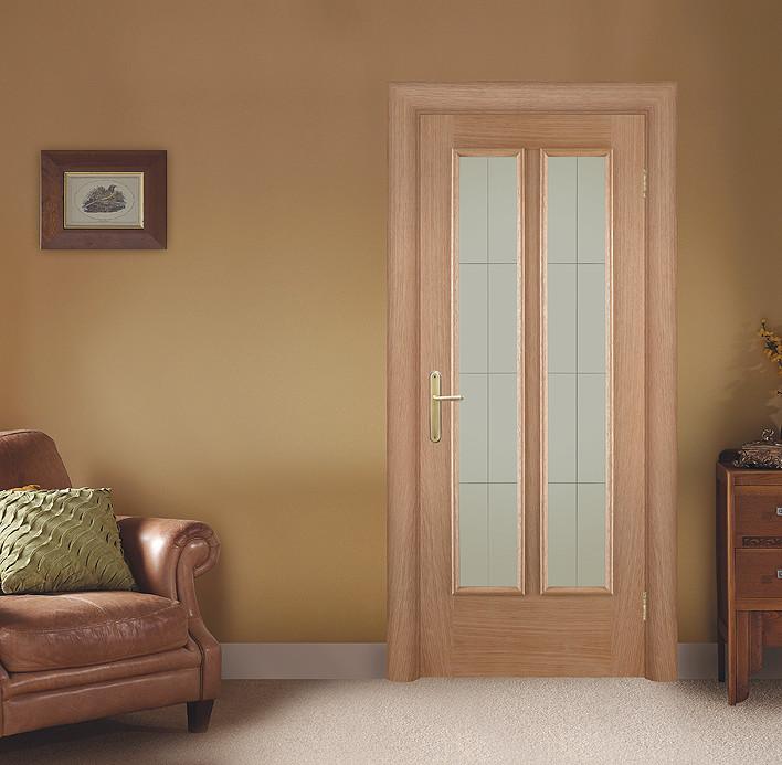 """Классическая светлая деревянная дверь """"Наполи"""" в интерьере"""