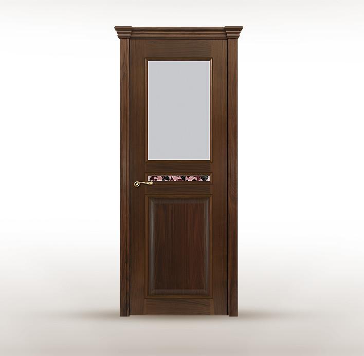 """Дизайнерская дверь """"Римини"""" с фьюзингом в стиле модерн"""